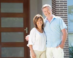 Home Loan Brokers Mature Couple